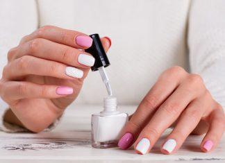 Knitted Nails Trend Nailart