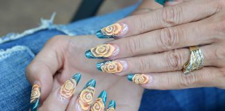 Nageldesign 3D Nailart Design