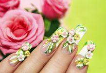 Nageldesign Frühling Bunt Farben