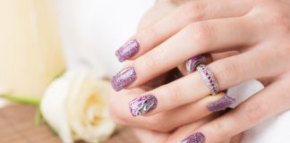 Nageldesign Lila Trend Nails