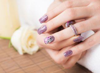 Nageldesign Lila Trend Nails