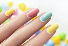 Pastell Nageldesign Farben Trend Nails