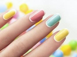 Pastell Nageldesign Farben Trend Nails