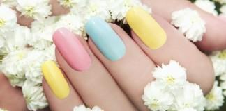 Sommer Nageldesign Pastell Trendfarben